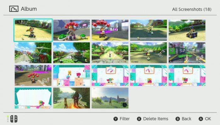 Nintendo Switch – Taking Screenshots