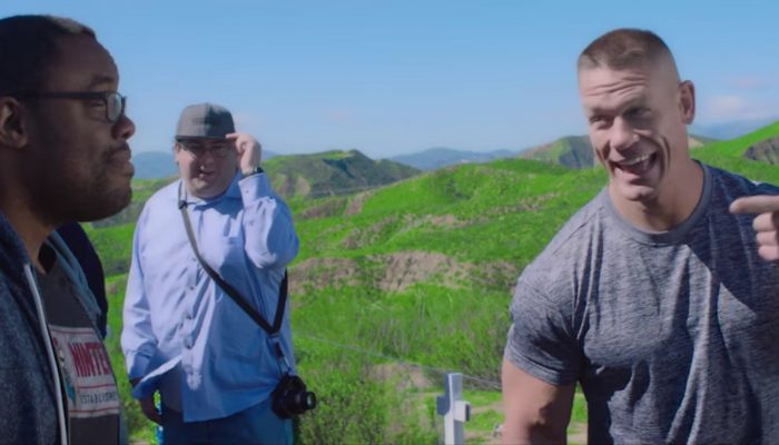 Nintendo Switch – John Cena Plays Nintendo Switch in Unexpected Places Commercial
