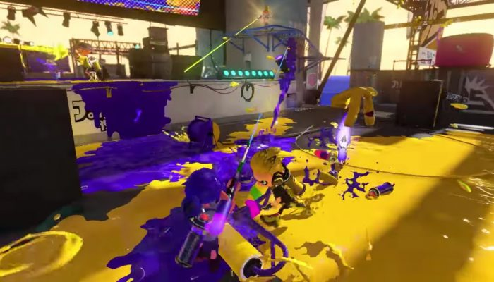 NoE: 'Update from the Squid Research Lab: check out the returning weapons in Splatoon 2'