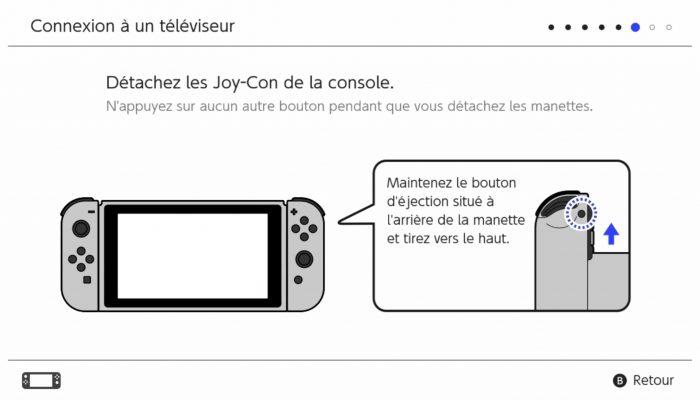 Nintendo Switch – Première utilisation