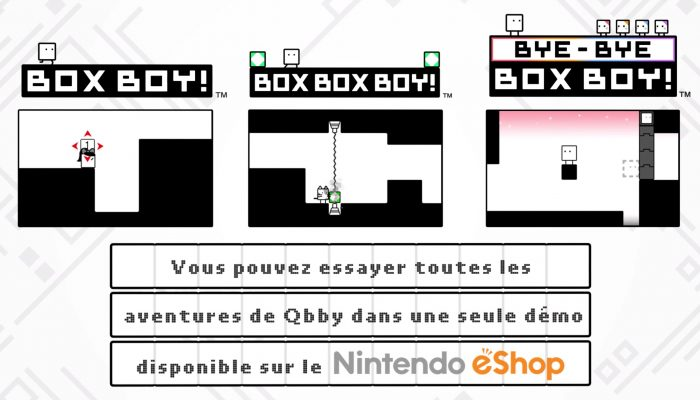 Bye-Bye BoxBoy! – Bande-annonce officielle
