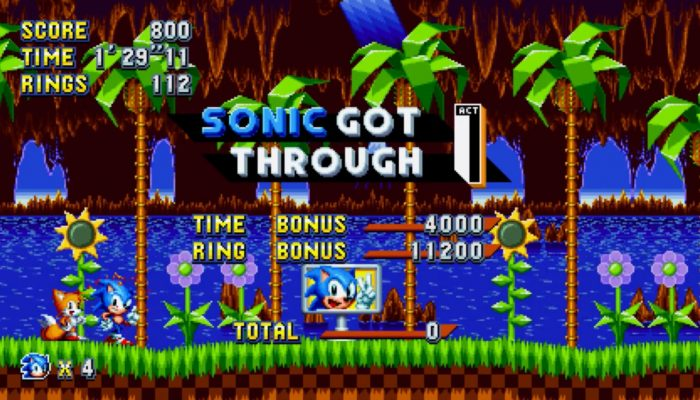 Sonic Mania – Green Hill Zone Gameplay