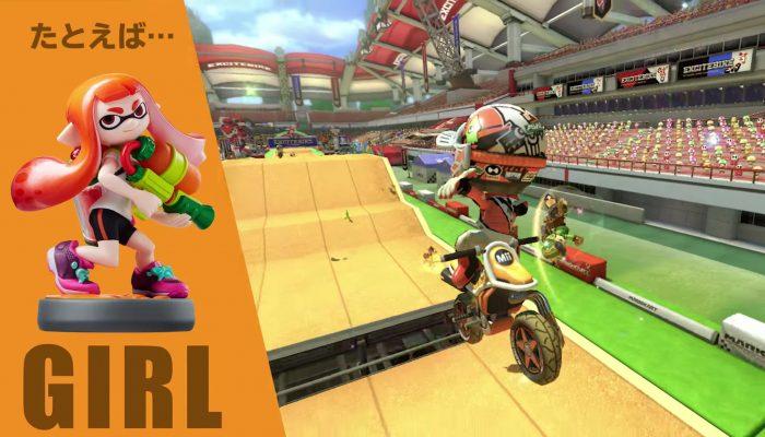 Mario Kart 8 Deluxe – Japanese amiibo Trailer