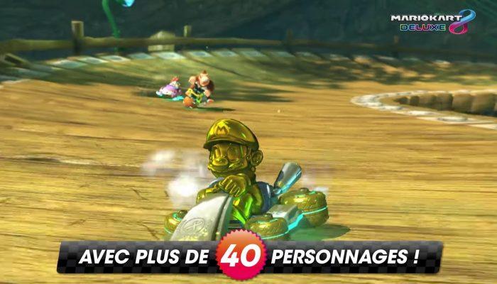 Mario Kart 8 Deluxe – Bande-annonce vue d'ensemble