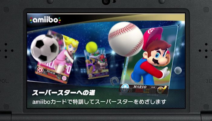 Mario Sports Superstars – Japanese amiibo Trailer
