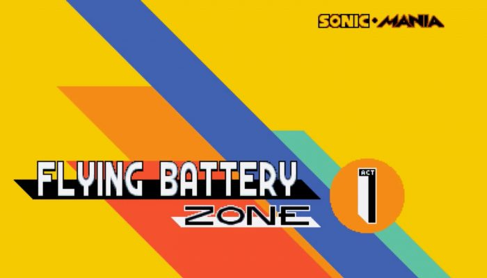 Sonic Mania – Flying Battery Zone Reveal Trailer