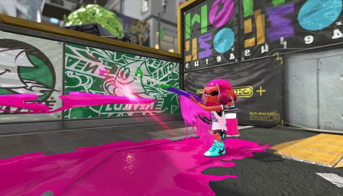 Splatoon 2 – Official Splat Charger Gameplay