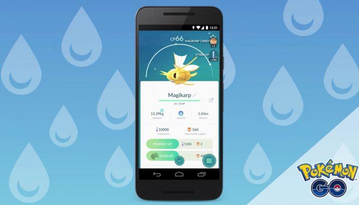 Pokémon Go – Shiny Magikarp Spotted!