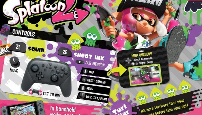 NoE: 'The Splatoon 2 Global Testfire starts today on Nintendo Switch!'