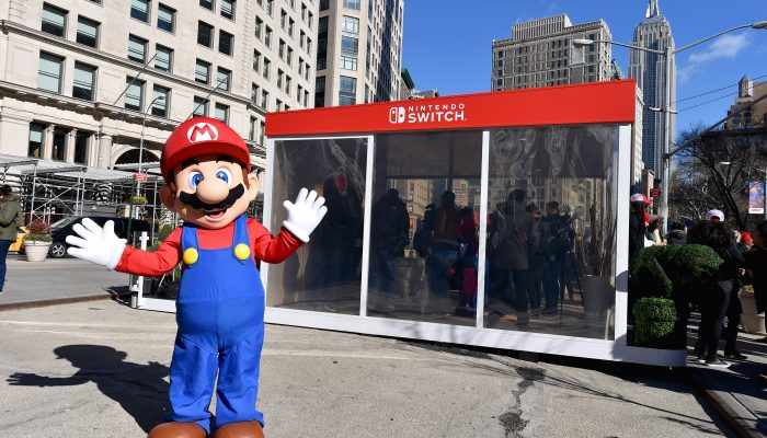 Photos of the Nintendo Switch Unexpected Places Event in Madison Square Park
