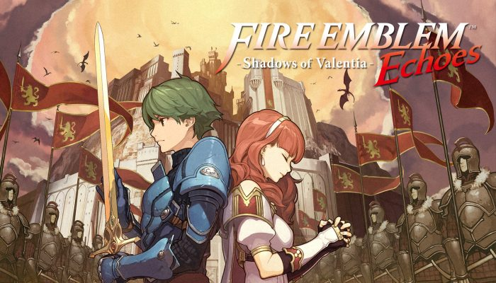 NoE: 'The fate of Valentia is in your hands in Fire Emblem Echoes: Shadows of Valentia, coming to Nintendo 3DS family systems on May 19th'