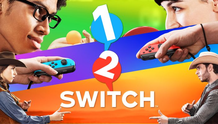 NoE: 'Let's have a look at some of the fun ways to face off in 1-2-Switch!'