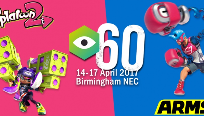 Nintendo UK: 'Play Arms and Splatoon 2 at Insomnia60!'