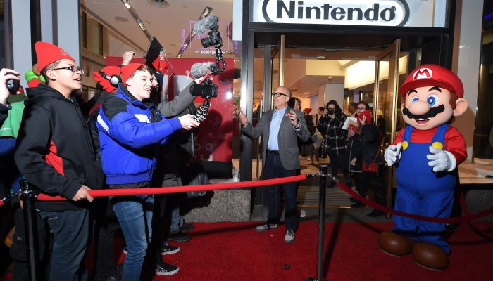Photos of the Nintendo NY Store Nintendo Switch Launch Event