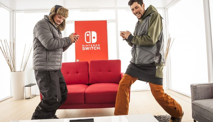 Photos of the Nintendo Switch Unexpected Places Event in Aspen, Colorado