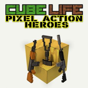 Nintendo eShop Downloads Europe Cube Life Pixel Action Heroes