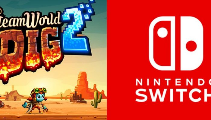 Image & Form: 'Play SteamWorld Dig 2 at PAX East on Nintendo Switch!'