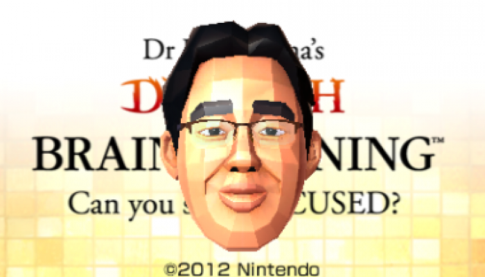 Dr Kawashima's Devilish Brain Training finally releases in Europe on July 27