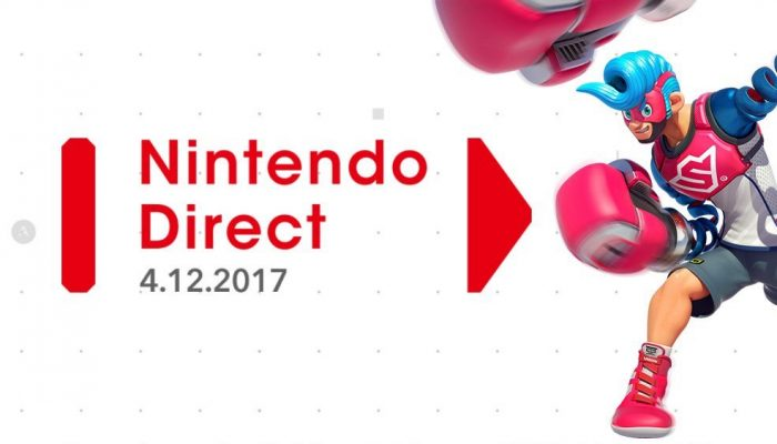 Nintendo Direct announced for April 12 at 3 PM PT