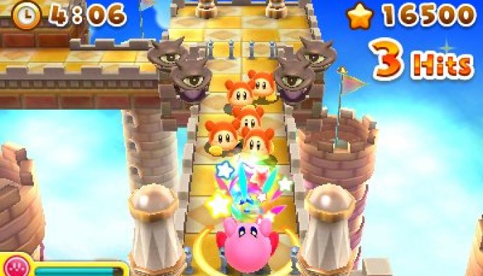 Kirby's Blowout Blast coming to 3DS eShop this summer