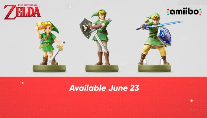 New Zelda series amiibo launching on June 23