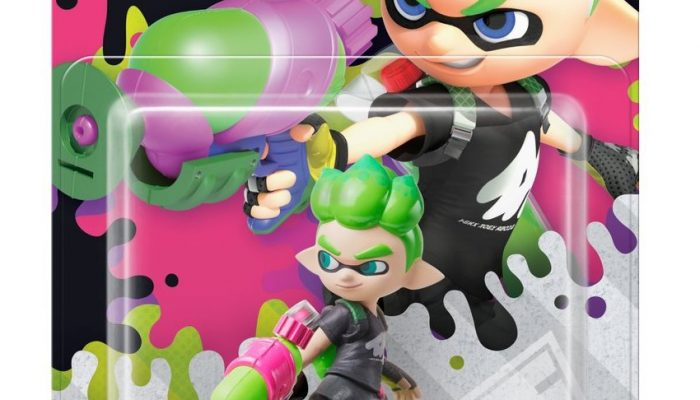 Splatoon 2 series amiibo announced