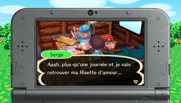 Animal Crossing : New Leaf Welcome amiibo – Serge