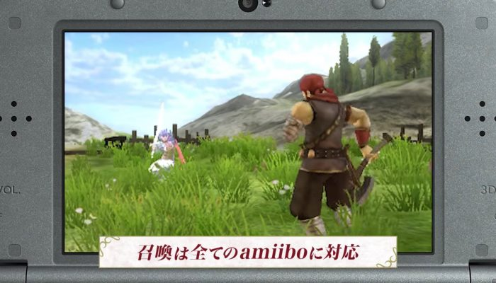 Fire Emblem Echoes: Shadows of Valentia – Japanese amiibo Trailer