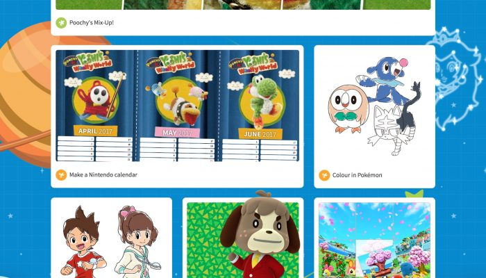 NoE: 'Check out fun games, activities, quizzes and more in our latest Nintendo Kids Club update!'