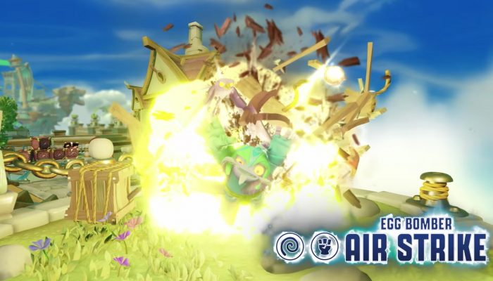 Skylanders Imaginators – Meet Egg Bomber Air Strike
