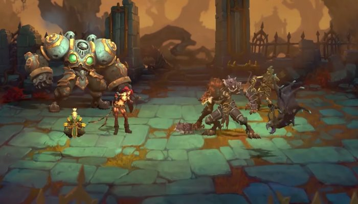 Battle Chasers: Nightwar – Reveal Trailer