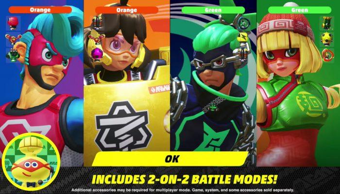 Arms – Nintendo Direct 4.12.2017