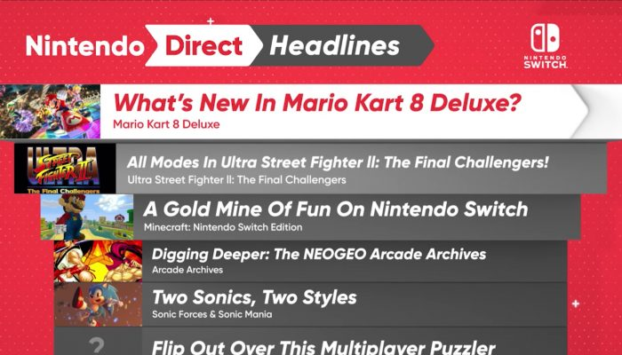 Nintendo Switch Headlines – Nintendo Direct 4.12.2017