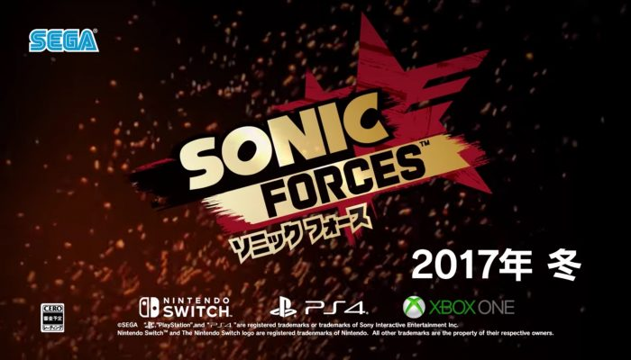 Sonic Forces – Japanese Reveal Videos