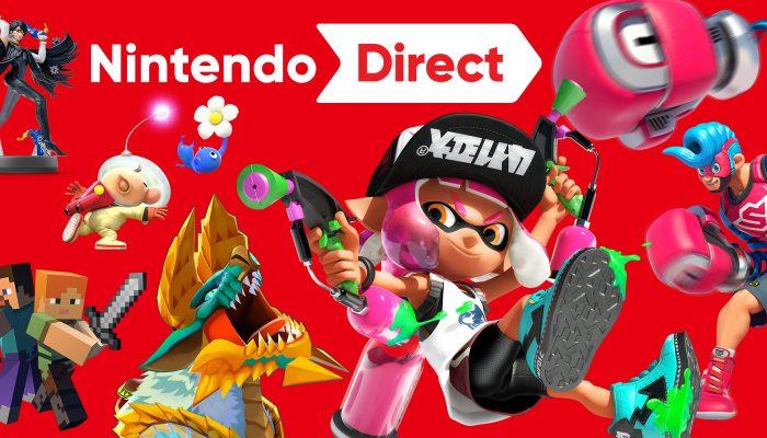 Nintendo France : 'Arms et Splatoon 2 sont à l'honneur dans la nouvelle présentation Nintendo Direct'