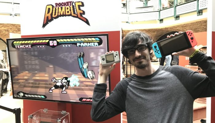 Nintendo UK: 'Interview: Pocket Rumble, the Nintendo Switch fighting game inspired by Neo Geo Pocket Color'