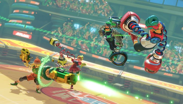 NoA: 'Arms and Splatoon 2 Headline New Nintendo Direct Presentation'