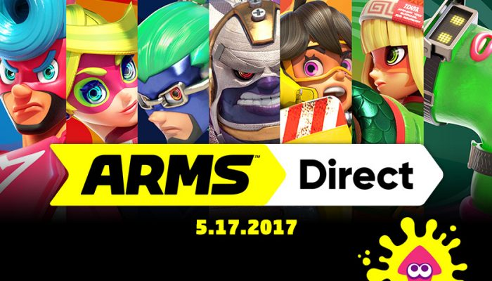 NoA: 'Nintendo unleashes a barrage of details for the new Arms game for Nintendo Switch'