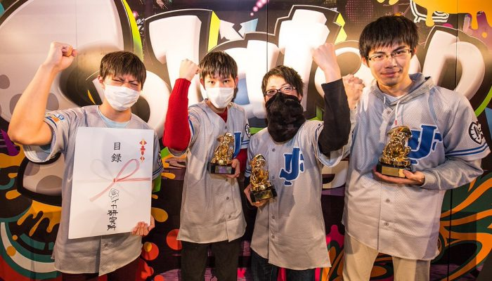 Here's the team set to represent Japan at the 2017 Splatoon 2 World Inkling Invitational