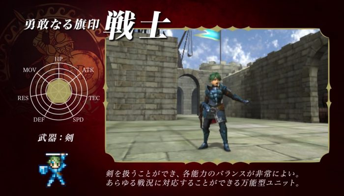 Fire Emblem Echoes: Shadows of Valentia – Japanese Classes Footage