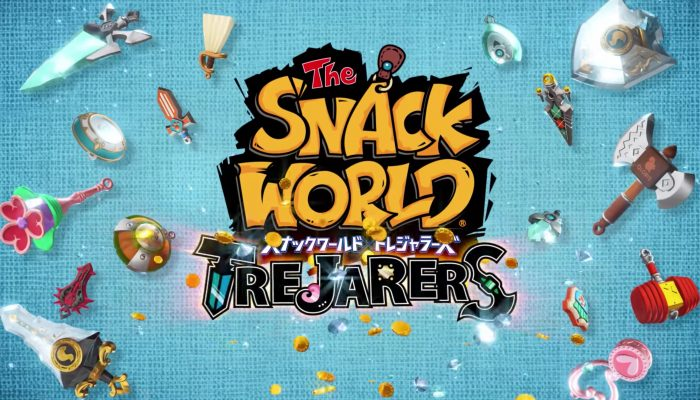 Snack World: Trejarers – First Japanese Commercial