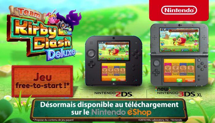 Team Kirby Clash Deluxe – Bande-annonce de lancement