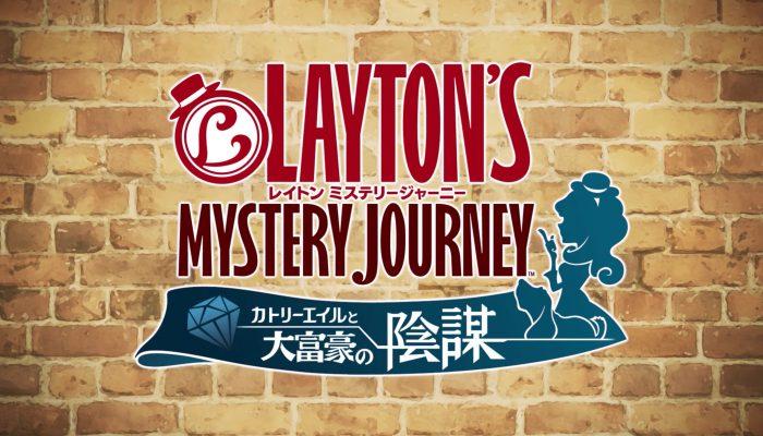 Lady Layton – Japanese New Name, New Logo Trailer