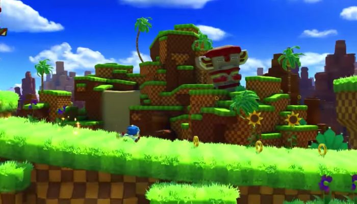 Sonic Forces – Classic Sonic Green Hill Zone Gameplay