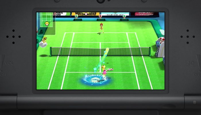 Mario Sports Superstars – Tennis Trailer