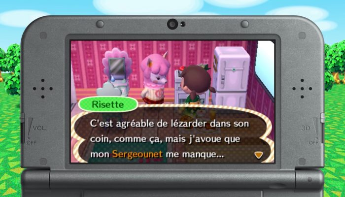 Animal Crossing : New Leaf Welcome amiibo – Risette
