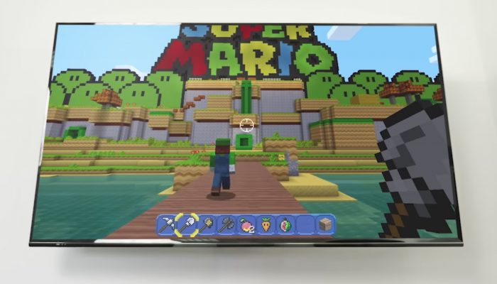 Nintendo France : 'Minecraft: Nintendo Switch Edition est disponible sur le Nintendo eShop'