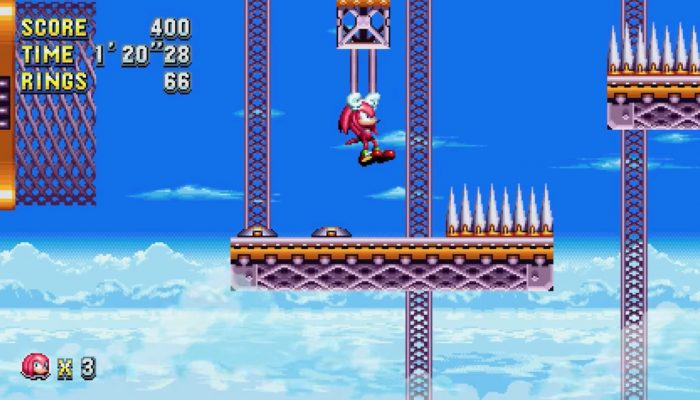 Sonic Mania – Knuckles in Flying Battery Zone