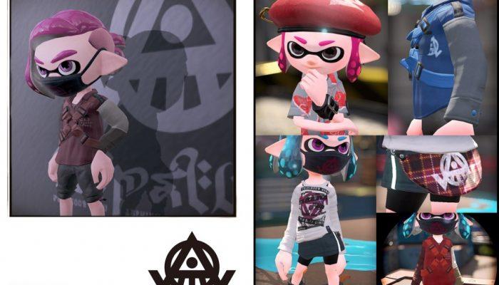 Nintendo France : 'Rapport du laboratoire de recherche sur les calamars : évolution de la mode dans le monde des Inklings'