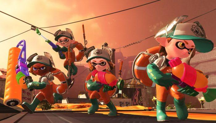 Nintendo France : 'Nouvelle trouvaille du laboratoire de recherche sur les calamars : découverte de Salmon Run, un mode inédit dans Splatoon 2'